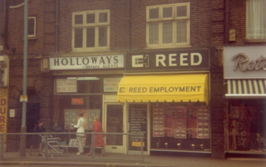 long service - Sir Alec Reed - Hounslow first REED