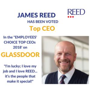 James Reed Top CEO Glassdoor - REED Global
