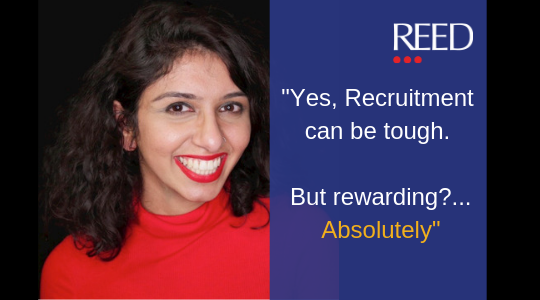 graduate recruitment consultant - first year in recruitment as a graduate at REED