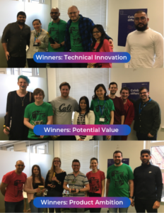 hackathon winners by category