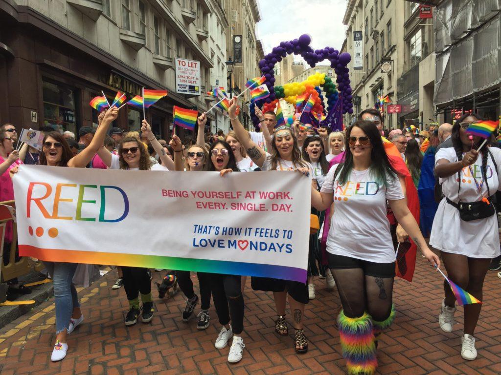 Birmingham pride reed banner - LGBTQ