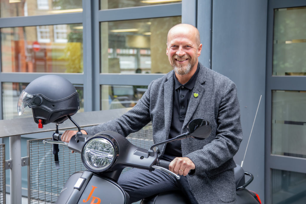 SIA Blog - James Reed CEO on scooter