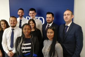 Reed Specialist Recruitment (RSR) reed Oxford group photo