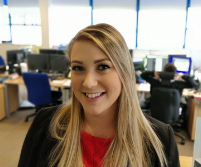 Chantelle - Harlow office recruitment apprentice- apprenticeships at REED