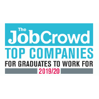 best places to work for graduates - job crowd award