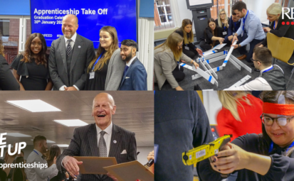 Take Off 2020 Blog cover image - apprenticeship event