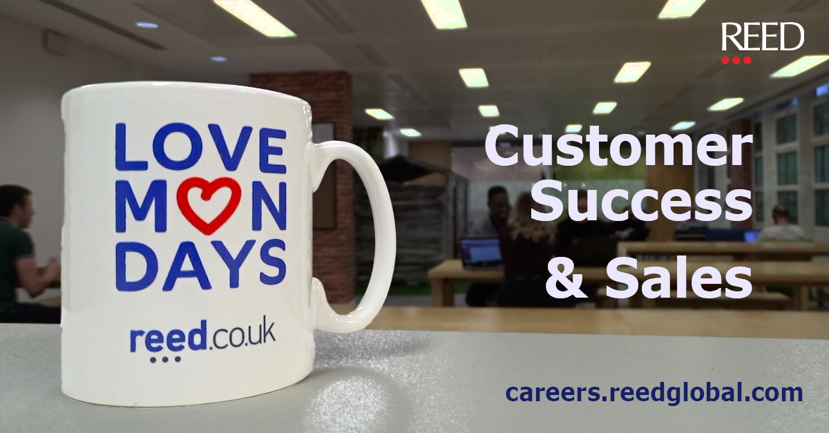 Customer Success Sales Roles At Reed Co Uk Careers At Reed