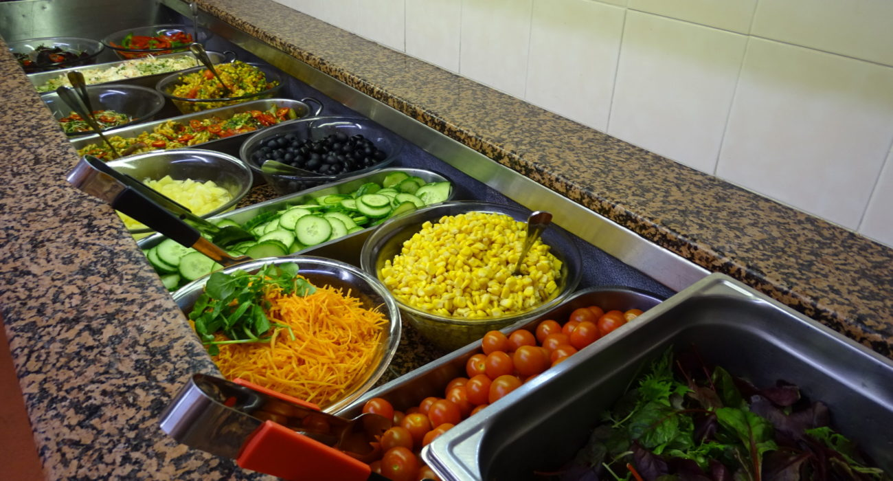 Reed Business School Salad bar