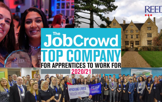 Job Crowd 2020 - Apprentices Award Blog - Best Companies to Work For 2020 2021