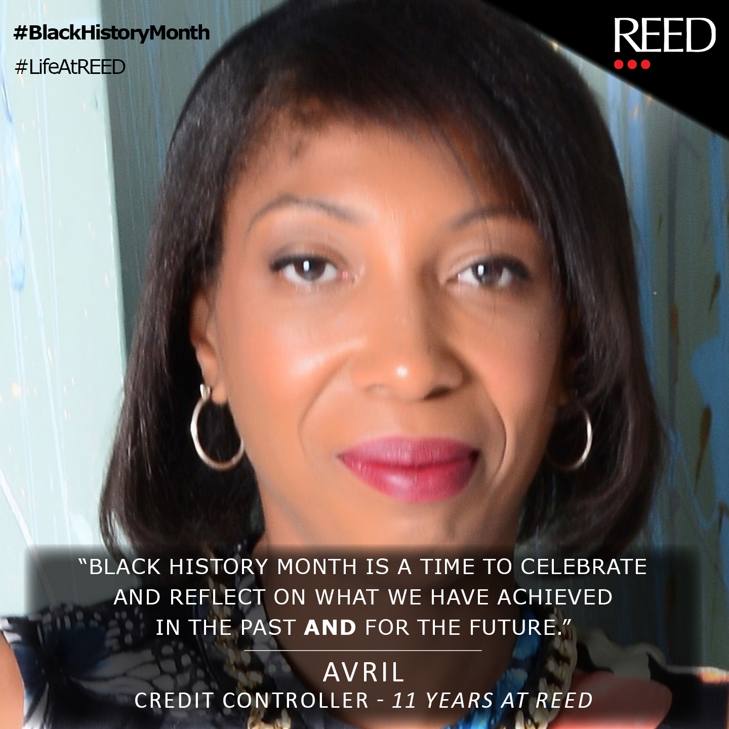 Avril Trotman - what Black History Month Means to Me