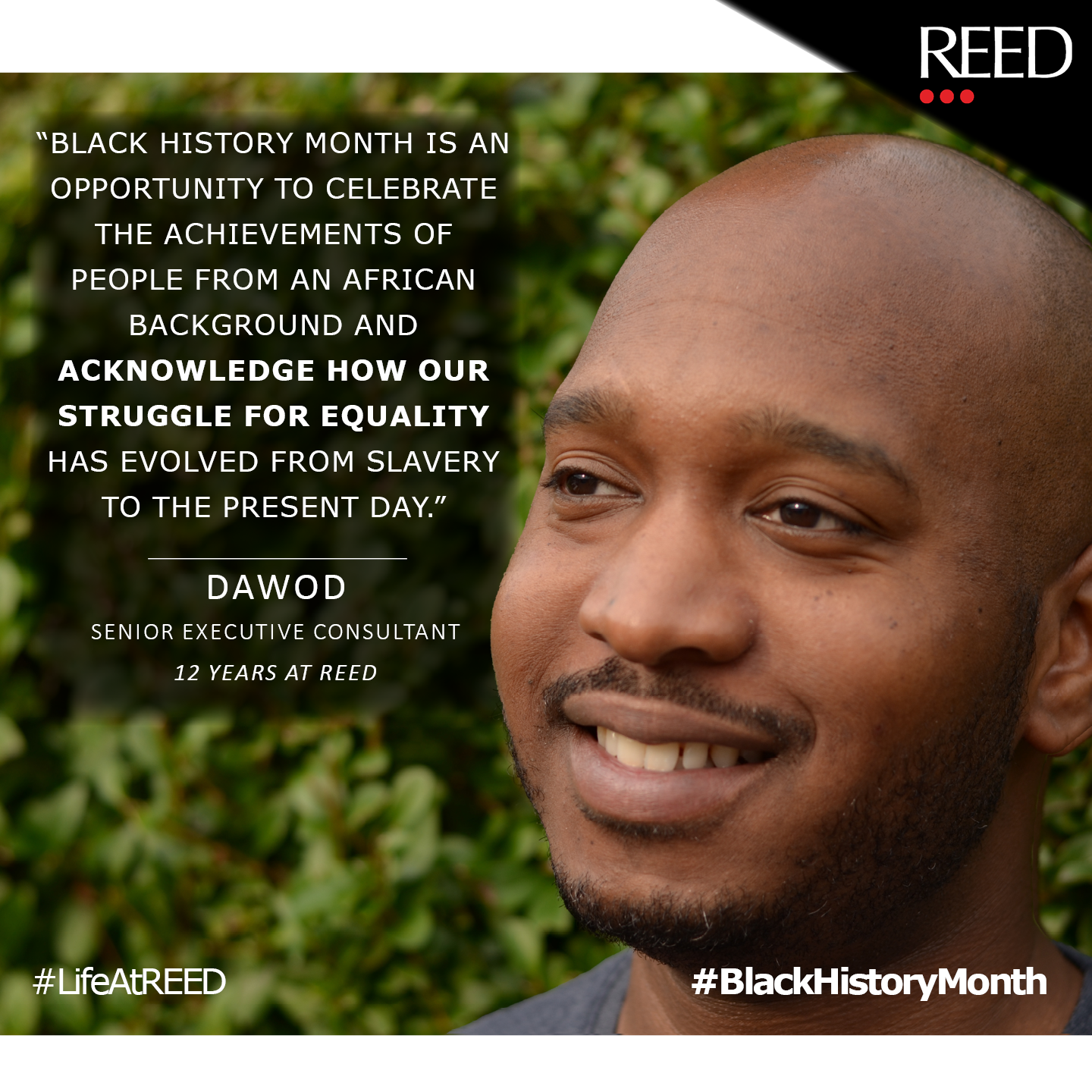 Dawod - Black History Month 2020 quote