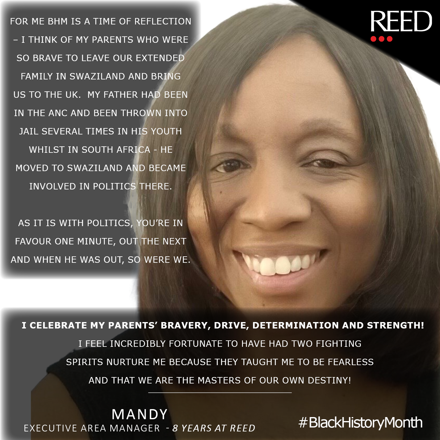 Mandy's Story - Black History Month