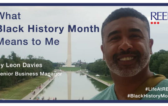 Leon Davies, Senior Business Manager - what black history month means to me blog on reed careers