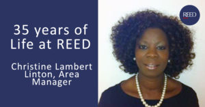 Christine Lambert Linton - 35 years at REED blog experience