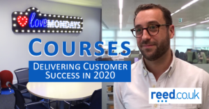 reed courses blog - customer success in 2020 including picture of Pierre Vangrevelynghe
