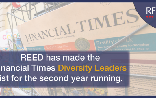 inclusive companies listing in financial times diversity leaders list Europe 2020
