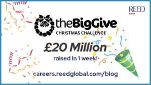 Big Give Christmas Challenge 20 million pounds BLOG image