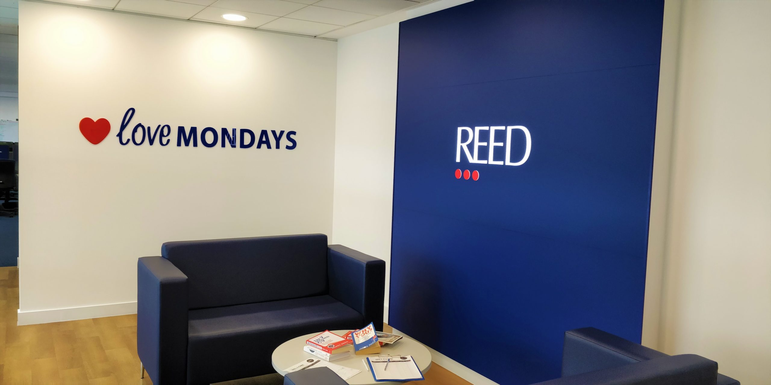 Reed Oxford reception area (present day)