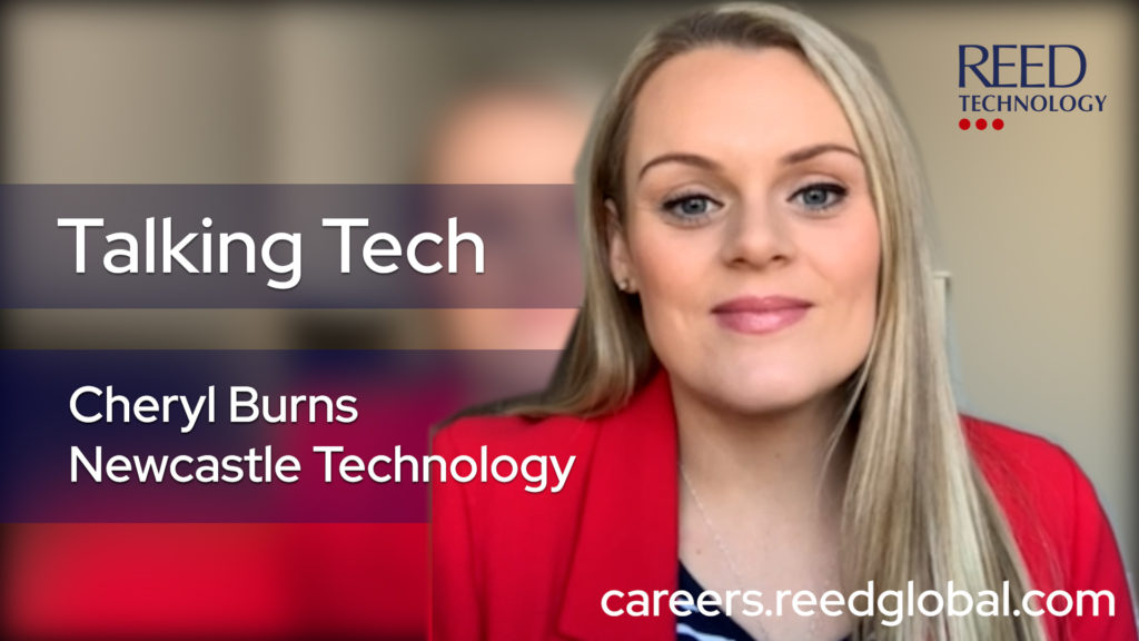 Cheryl Burns talks tech-on-the-tyne and working for reed technology blog
