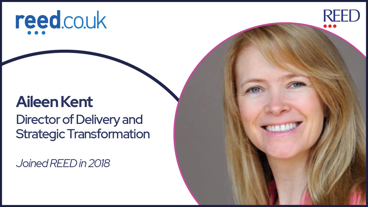 Aileen Kent - Director of Delivery and Strategic Transformation at Reed online (reed.co.uk)
