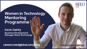 kevin dainty talks about women in technology mentoring programme